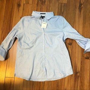 NWT Lands End dress shirt size 14